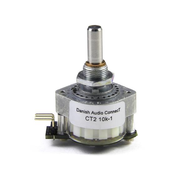 Потенциометр DACT CT2-10k-1 моно (дискретный)