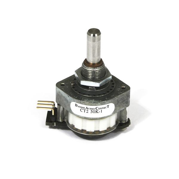 Потенциометр DACT CT2-50k-1 моно (дискретный) 10pcs lot 3296w 1 503lf 3296w 503 50k ohm top regulation multiturn trimmer potentiometer high precision variable resistor