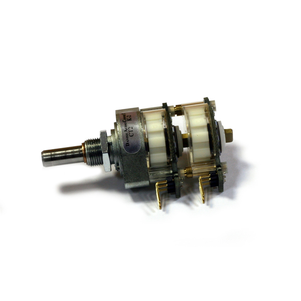 Потенциометр DACT CT2-500k-2 стерео (дискретный) canada precision potentiometers 500k