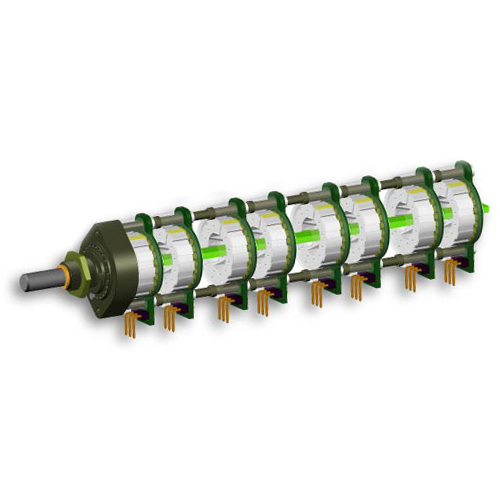 Потенциометр DACT CT2-20k-8 (дискретный) цена и фото