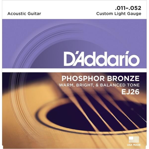 Гитарные струны DAddario EJ26 (для акустической гитары)