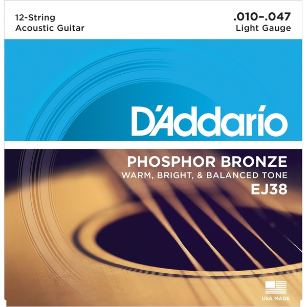 Гитарные струны DAddario EJ38 (для акустической гитары)