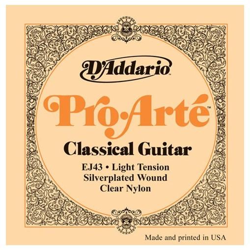 Гитарные струны DAddario EJ43 (для классической гитары)