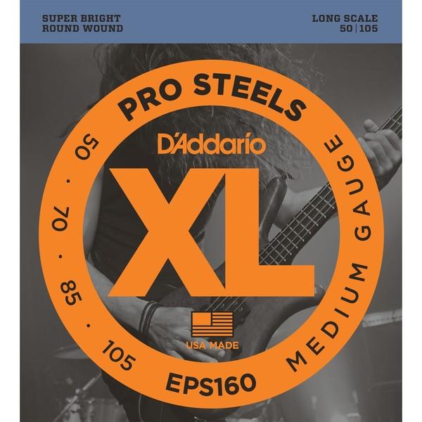 Гитарные струны D'Addario EPS160 (для бас-гитары) ernie ball extra light nickel wound струны для электрической гитары 10 50
