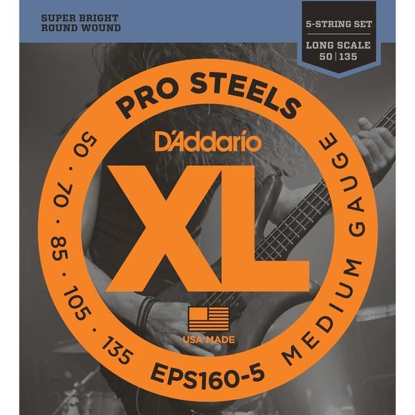 Гитарные струны D'Addario EPS160-5 (для бас-гитары) цена