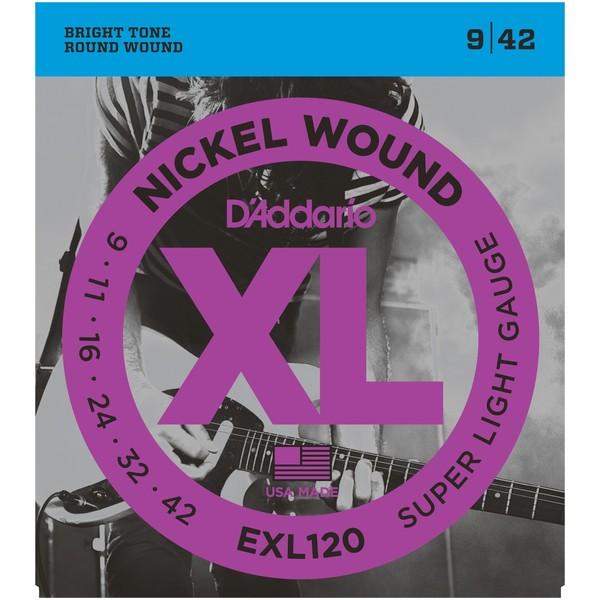 Гитарные струны DAddario EXL120 (для электрогитары)