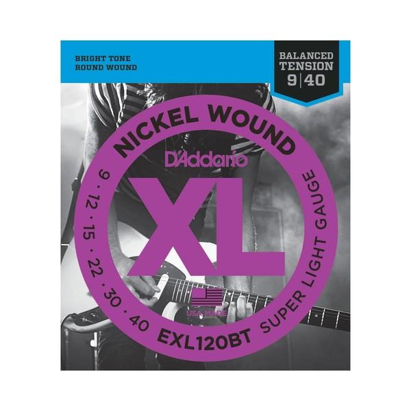 Гитарные струны DAddario EXL120BT (для электрогитары)