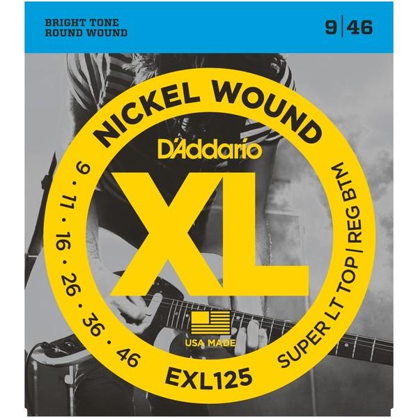 Гитарные струны DAddario EXL125 (для электрогитары)