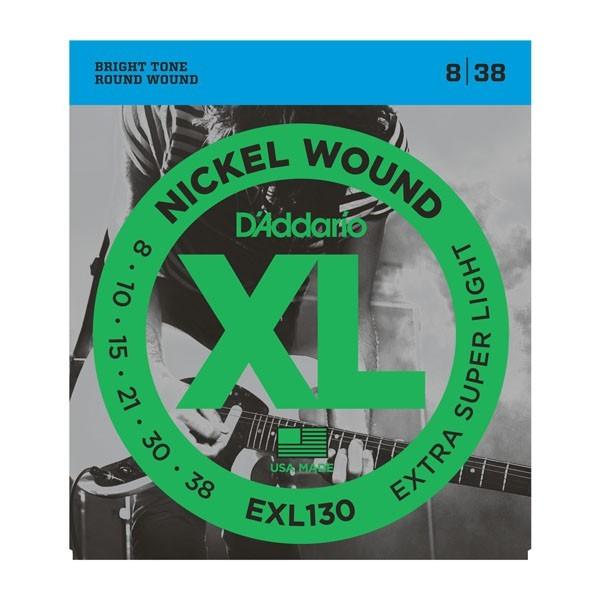 Гитарные струны DAddario EXL130 (для электрогитары)