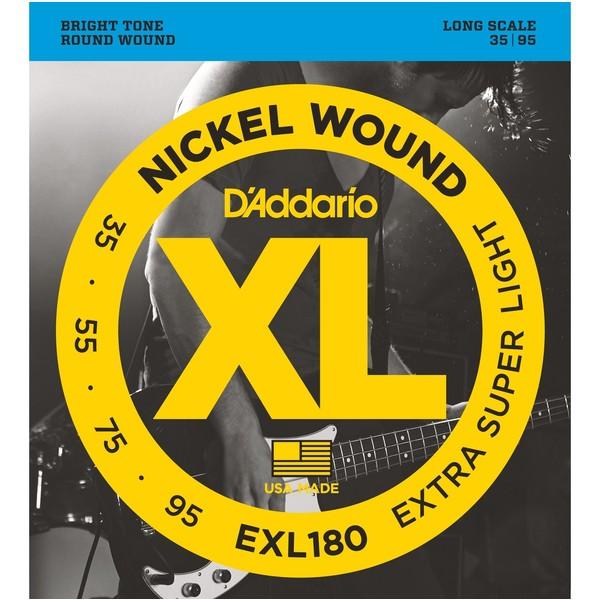 Гитарные струны D'Addario EXL180 (для бас-гитары) бас гитару бу в нижнем новгороди
