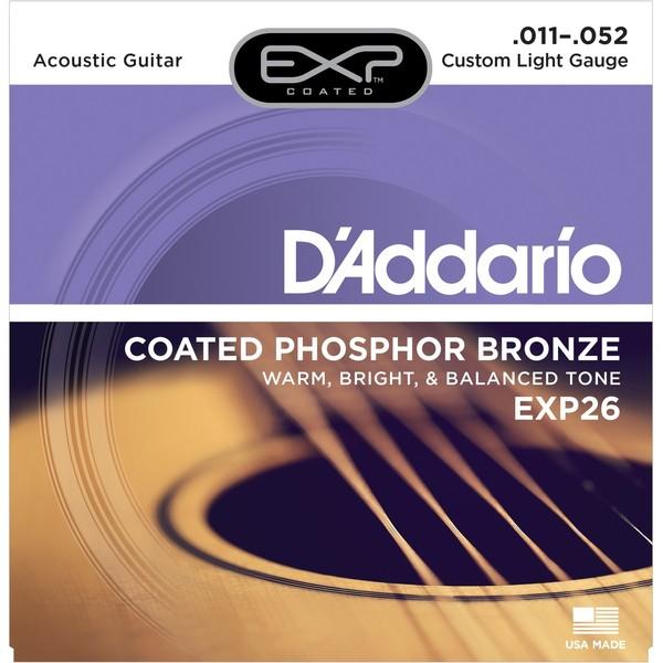 Гитарные струны DAddario EXP26 (для акустической гитары)