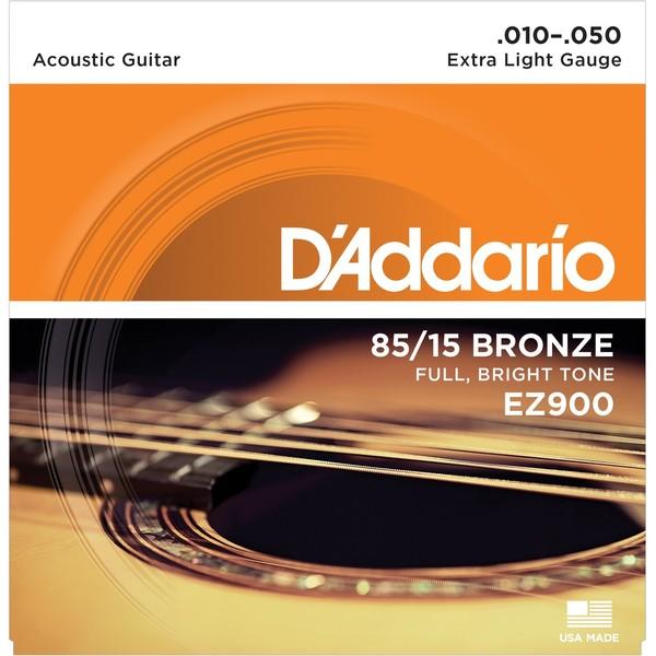 Гитарные струны DAddario EZ900 (для акустической гитары)