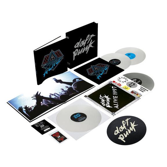 Daft Punk Daft Punk - Alive 1997 / Alive 2007 (4 Lp, 180 Gr) phil collins singles 4 lp
