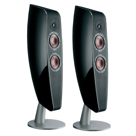 Напольная акустика DALI Fazon F5 High Gloss Black акустика центрального канала piega classic center large macassar high gloss