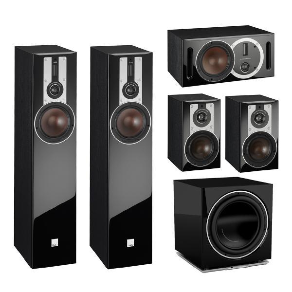 Комплект акустики DALI 7.1 Opticon Black