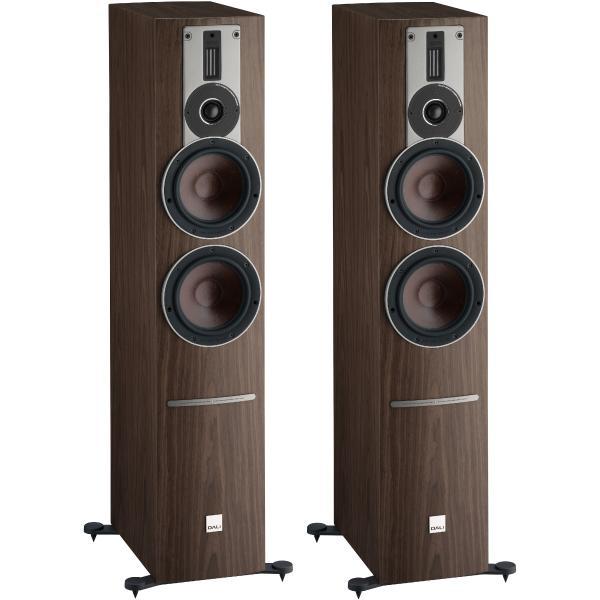 Активная напольная акустика DALI Rubicon 6 C Walnut + BluOS Sound HUB Module
