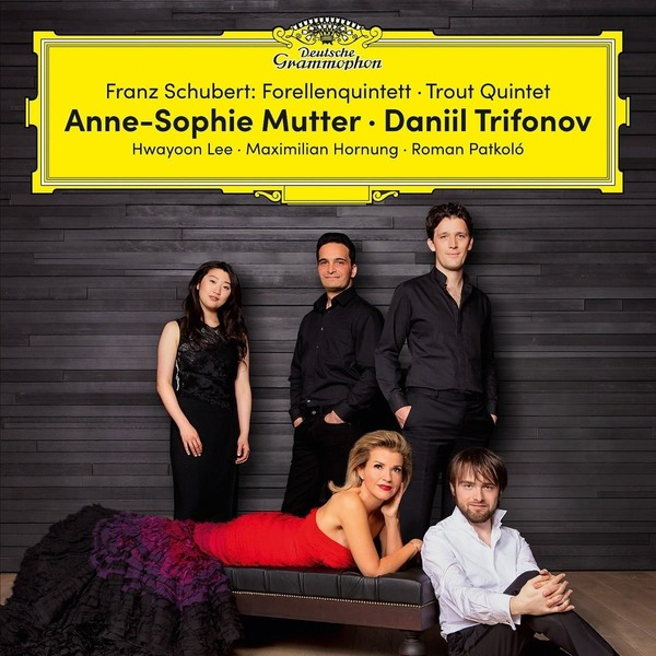 Schubert SchubertDaniil Trifonov Anne-sophie Mutter - : Forellenquintett - Trout Quintet (2 LP) cd диск mutter anne sophie karajan herbert van the four seasons 1cd