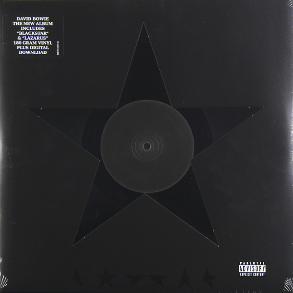 David Bowie David Bowie - Blackstar (180 Gr) david bowie blackstar lp