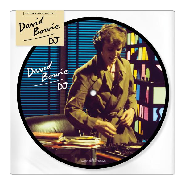 David Bowie David Bowie - Dj (40th Anniversary) (limited, 45 Rpm, Picture Disc)
