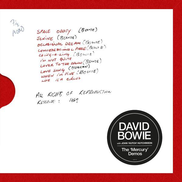 David Bowie John hutch Hutchison - The mercury Demos (limited, 180 Gr)