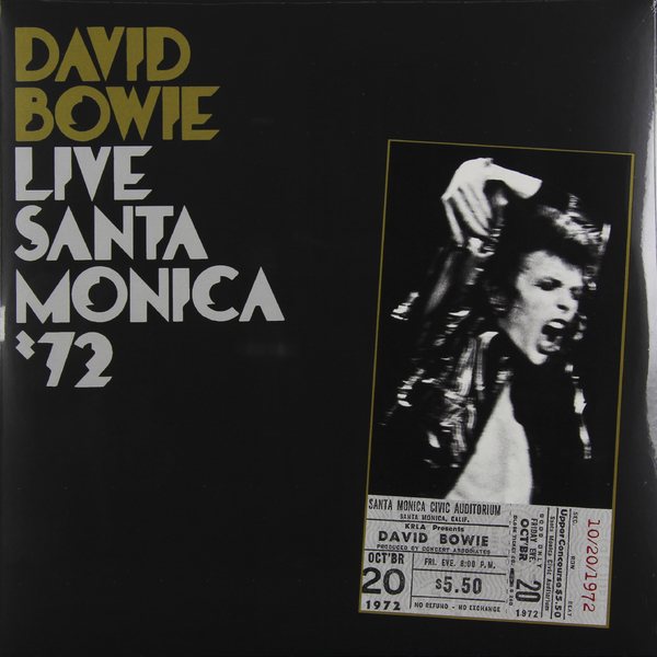 David Bowie David Bowie - Live Santa Monica '72 (2 LP) david bowie blackstar lp