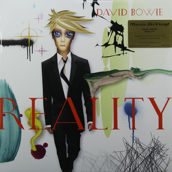 David Bowie David Bowie - Reality (180 Gr) david bowie david bowie ziggy stardust and the spiders from mars the motion picture soundtrack 2 lp 180 gr