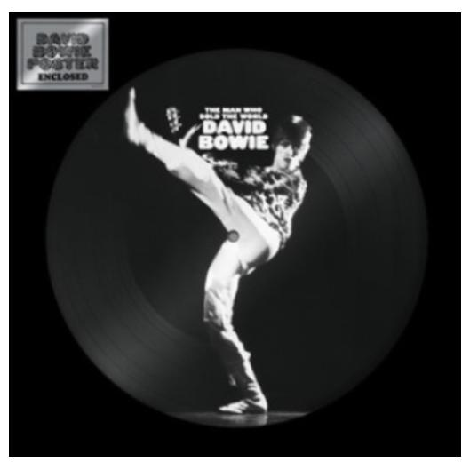 David Bowie David Bowie - The Man Who Sold The World (limited, Picture Disc) david bowie david bowie changesnowbowie limited