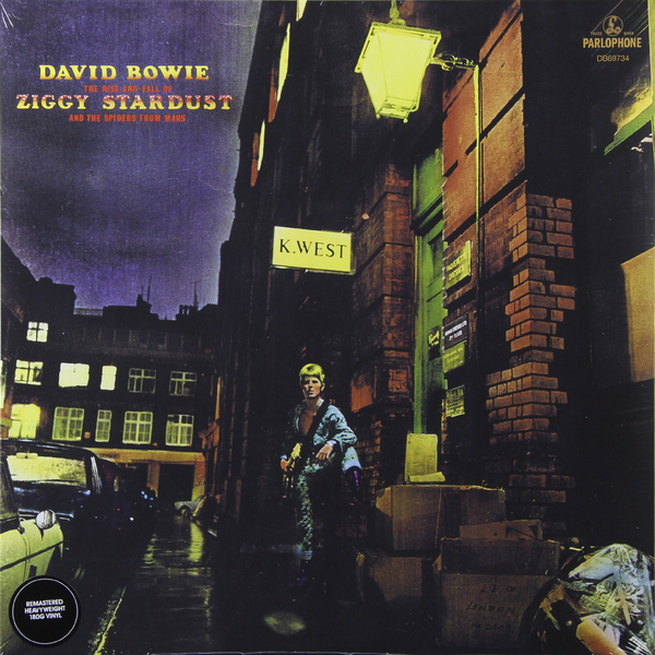 David Bowie David Bowie - The Rise And Fall Of Ziggy Stardust And The Spiders From Mars (180 Gr) forza italia the fall and rise of italian football
