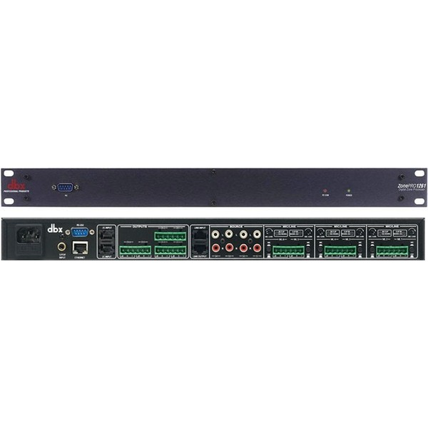 Контроллер/Аудиопроцессор dbx ZonePRO 1261 аксессуар dbx gorack 2x2 pa спикер процессор