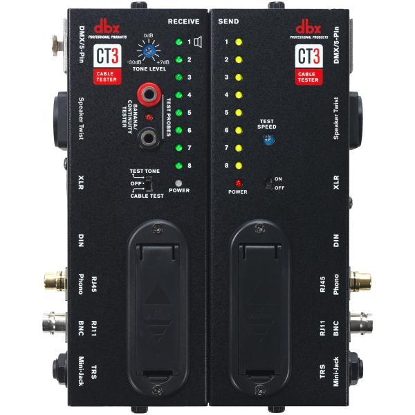 Аксессуар для концертного оборудования dbx Тестер кабелей CT3