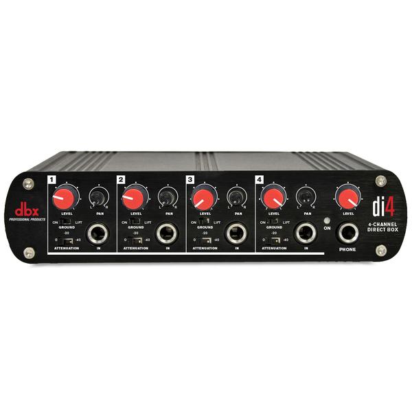 Директ-бокс dbx DI4 аудио разветвитель dbx sc 234xl pk