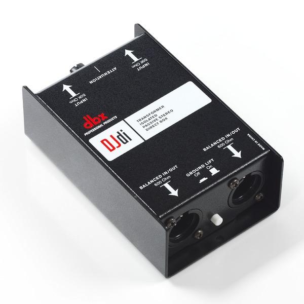 Директ-бокс dbx DJDI контроллер акустических систем dbx driverack pa 2