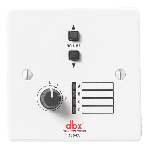 Панель управления dbx ZC-8 контроллер аудиопроцессор dbx driverack 260