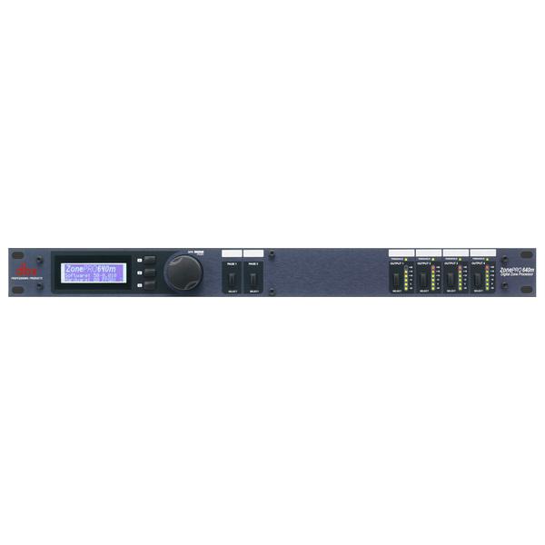 Контроллер/Аудиопроцессор dbx ZonePRO 640m контроллер аудиопроцессор dbx zonepro 1261