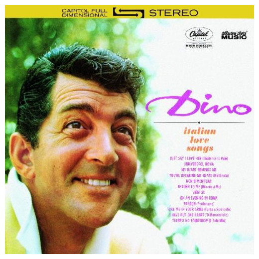 Dean Martin Dean Martin - Dino: Italian Love Songs стоимость