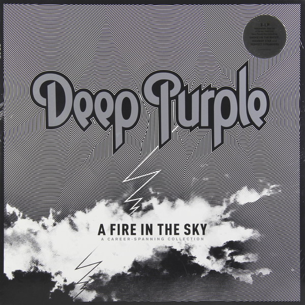 Deep Purple Deep Purple - A Fire In The Sky - Selected Career-spanning Songs (3 Lp, 180 Gr) колонка nixon blaster fw15 purple sky