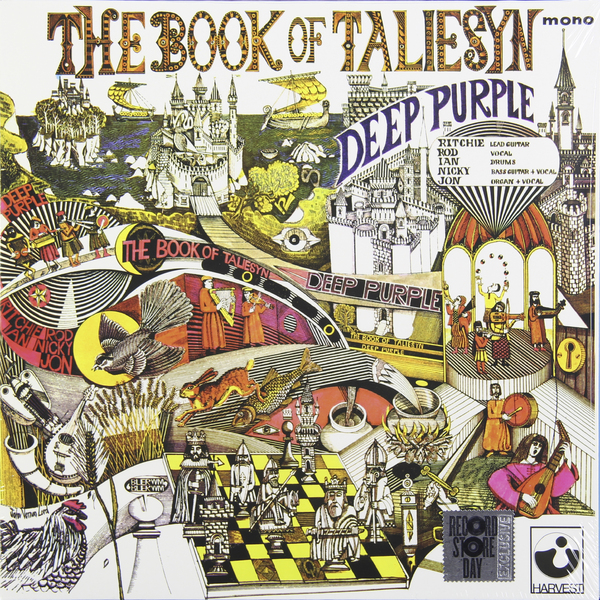 Deep Purple Deep Purple - Book Of Taliesyn куртка thirty two shiloh 2 0 shell deep purple