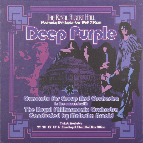 Deep Purple Deep Purple - Concerto For Group And Orchestra (3 LP) fashionable purple twill pattern 8 5cm width deep blue tie for men