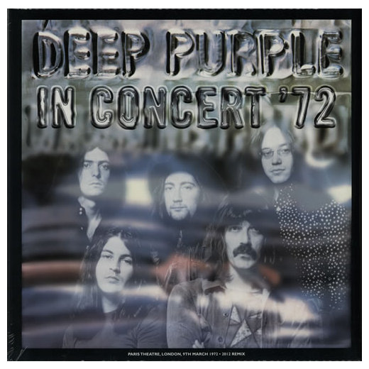 Deep Purple Deep Purple - In Concert '72 (2 Lp + 7 ) dark wash long denim coat jacket with hooded