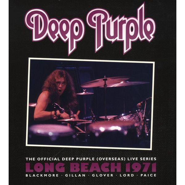 Deep Purple Deep Purple - Long Beach 1971 (2 LP) nux ad 3 new arrival guitar effects pedal analog delay effect 300ms max delay time warm echoes sound true bypass free shipping