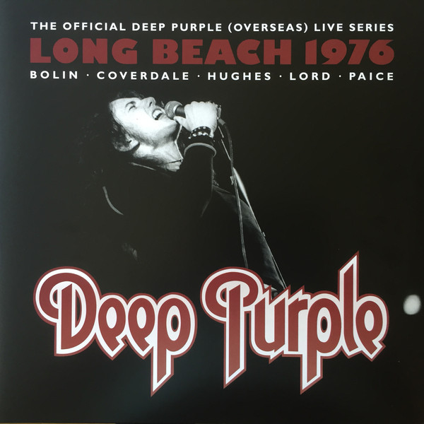 Deep Purple Deep Purple - Long Beach 1976 (3 LP) purple rain lp cd