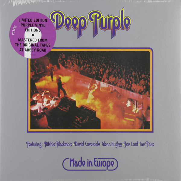 Deep Purple Deep Purple - Made In Europe (colour) deep purple киев