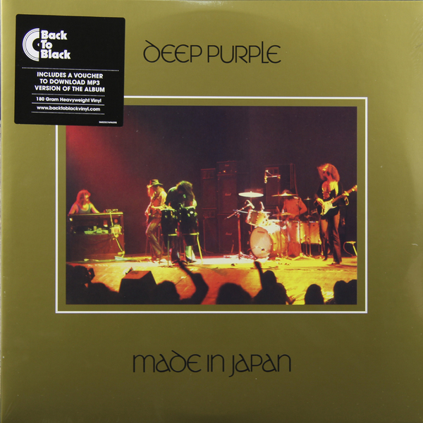 Deep Purple Deep Purple - Made In Japan (2 Lp, 180 Gr) deep purple deep purple in concert 2 cd