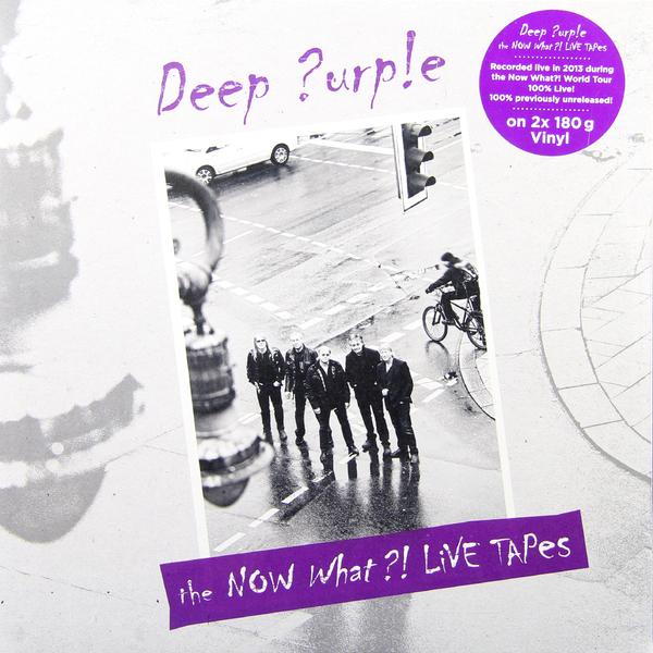 Deep Purple Deep Purple - Now What?! - Live Tapes (2 Lp, 180 Gr) purple rain lp cd