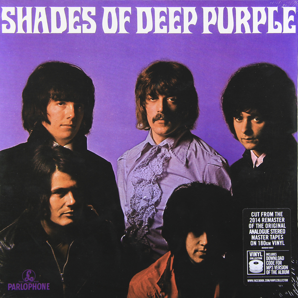 Deep Purple Deep Purple - Shades Of Deep Purple (180 Gr) cd dvd deep purple deepest purple the very best of 30th anniversary edition