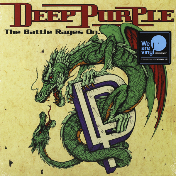 Deep Purple Deep Purple - The Battle Rages On (180 Gr) free shipping high quality 15267 full zro2 ceramic deep groove ball bearing 15x26x7mm bike bearing wheel hub bearing