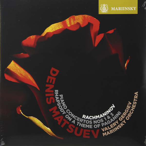 Rachmaninov RachmaninovDenis Matsuev - : Piano Concerto No. 3 Rhapsody On A Theme Of Paganini - Vinyl Edition (2 Lp, 180 Gr)