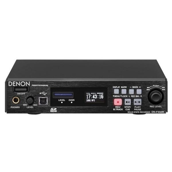 Профессиональный рекордер Denon DN-F450 медиаплеер denon dn f300e2