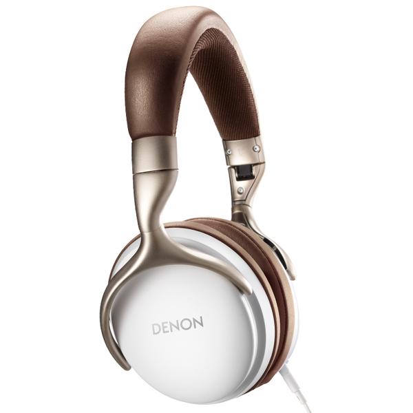 Охватывающие наушники Denon AH-D1200 White наушники denon ah c260 silver