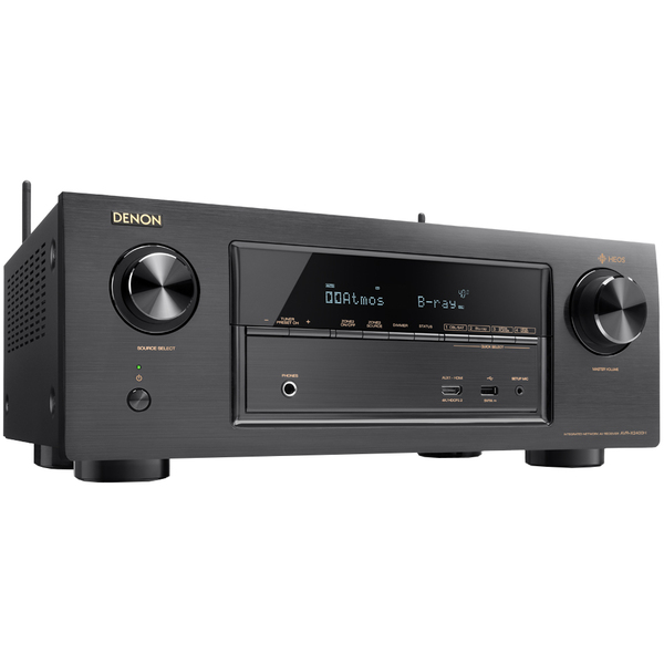AV ресивер Denon AVR-X2400H Black
